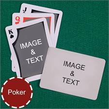 Poker Modern Custom 2 Side Landscape Playing Cards