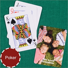 Personalized Photo Playing Cards