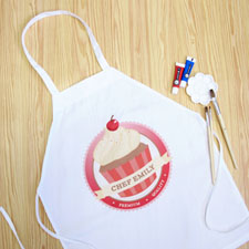 My Little Cupcake Personalized Girl Apron