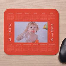 Custom Calendar 2014 Orange