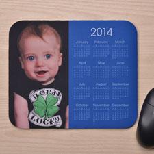 Blue Photo Calendar 2014