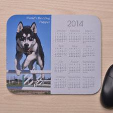 White Photo Calendar 2014
