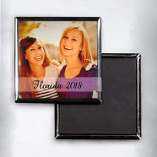 Instagram Personalized Photo Square Photo Magnet