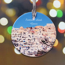Photography Personalized Photo Porcelain Ornament