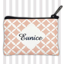 Carol Clover Personalized Coin Purse