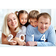 Personalized Shiny Year Lenticular Greeting Card