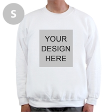 Design Your Own Personalized Photo White Sweatshirt