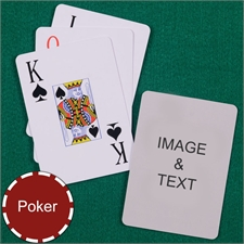 Poker Jumbo Index Playing Cards