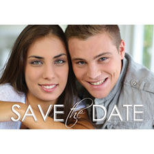 Wedding Save The Date Personalized Animated Invitation Card (4 X 6)