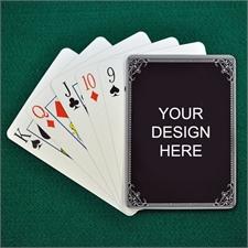 Custom Imprint Design Vintage Silver Frame