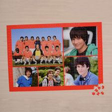 Orange Five Collage 18 x 24