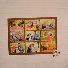 Chocolate Nine Collage 18 x 24