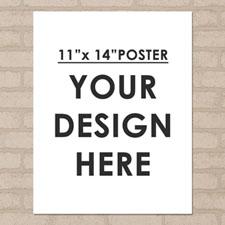 Photo Poster Print Single Image 11X14