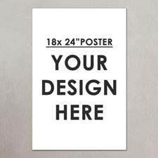 Photo Poster Print Single Image 18X24