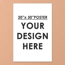 Photo Poster Single Image 20X30