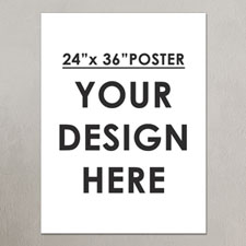 Photo Poster Single Image 24X36