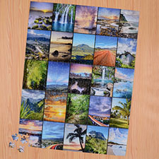 Twenty Five Collage 18 X 24 Photo Puzzle