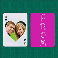 Will You Go To Prom With Me? Save The Date Playing Cards