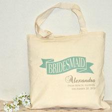 Bridesmaid Cotton Tote Bag