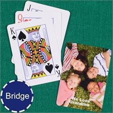 Bridge Size Playing Cards Standard Index
