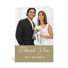 Custom Timeless Gold Wedding