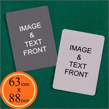 63 x 88mm Custom Cards (Blank Cards)