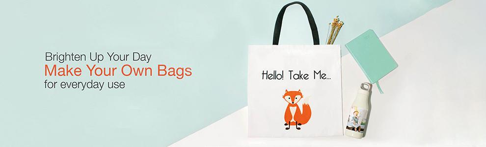 custom photo bags