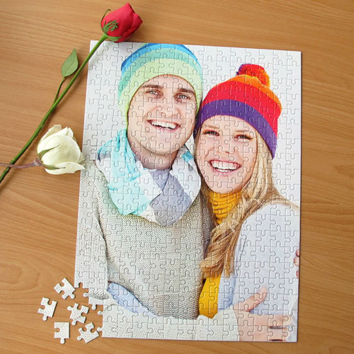 Personalized 285 Or 54 Piece 12X16.5 Portrait Jigsaw Puzzle