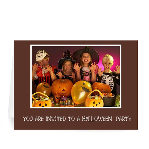 Personalized Classic Halloween, Coco Greeting Cards