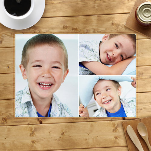 Personalized Placemat 3 Collage Placemats