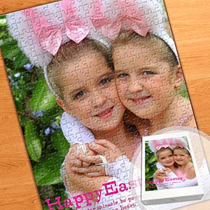 Photo Jigsaw Portrait Puzzle, Happy Easter
