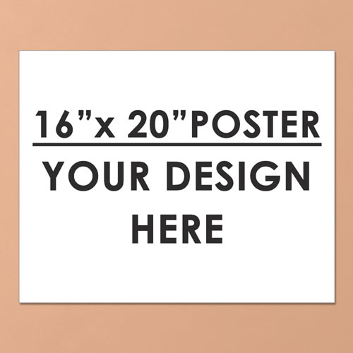 Photo Poster Print Single Image 16X20 Landscape