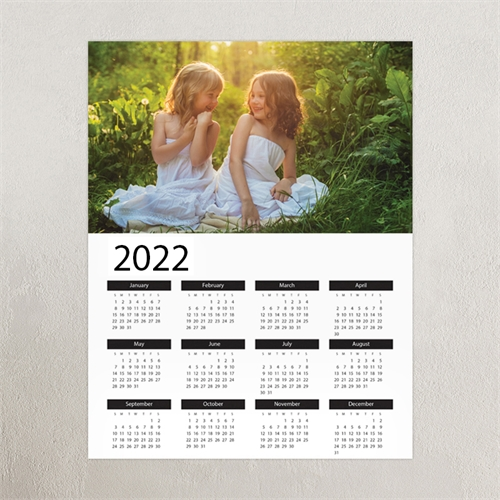 Landscape Photo 12X18 Poster Print Calendar 2019