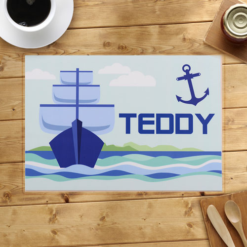 Personalized Sailing Anchor Placemats