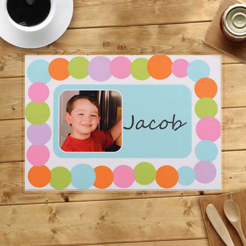 Personalized Alphabets Placemats