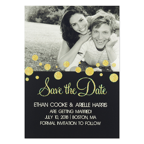 Personalized Falling In Love Invitation Cards