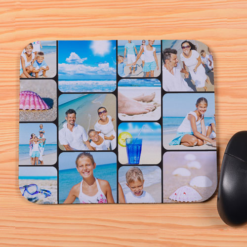 Personalized 14 Instagram Collage Mouse Pad