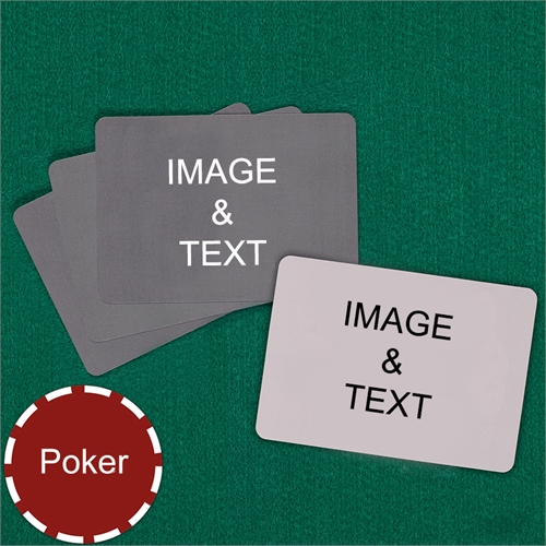 Poker Landscape Custom Cards (Blank Cards) Playing Cards