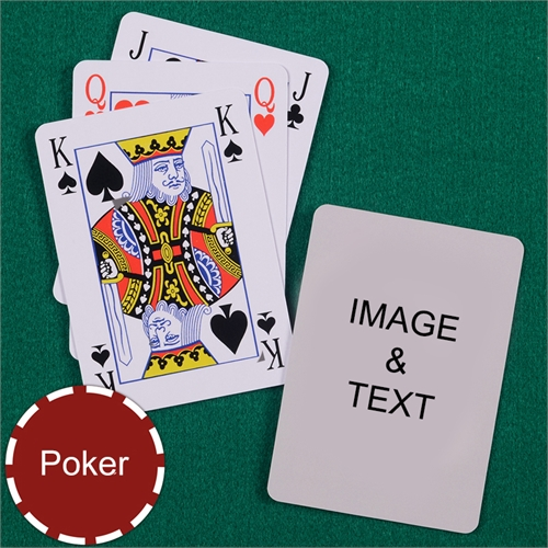 Poker Bridge Style Playing Cards