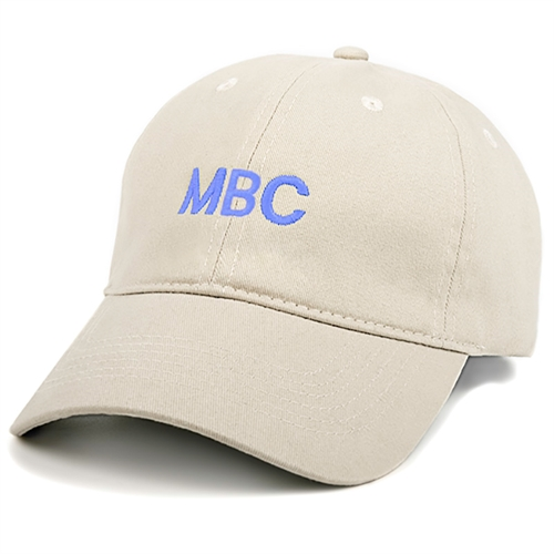 Custom Embroidery Baseball Cap, Khaki