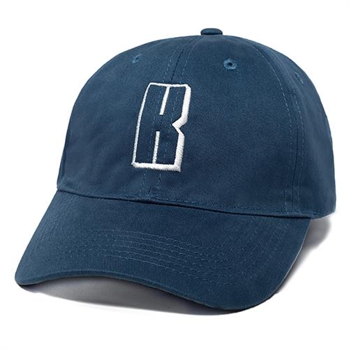 Custom Design Embroidery Baseball Cap, Navy