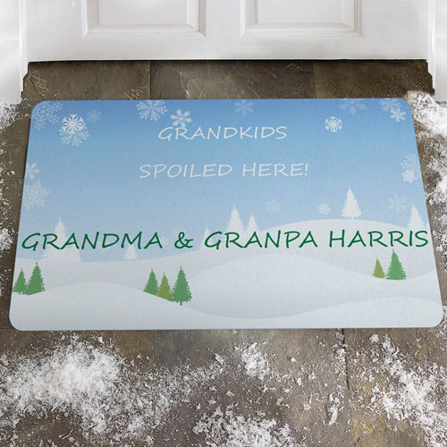 Create Your Own Winter Wonder Door Mat