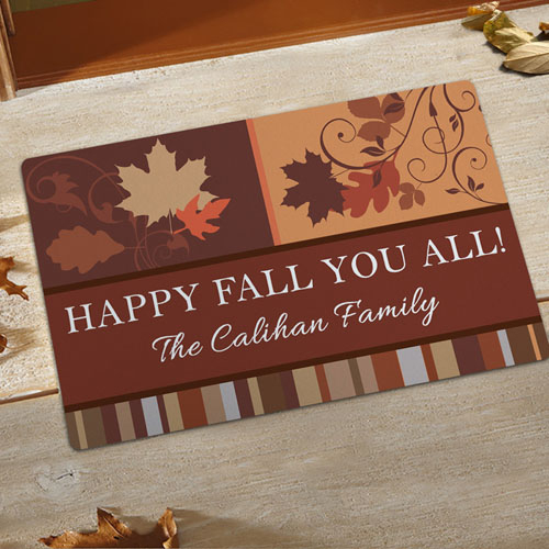 Create Your Own Fall Fun Door Mat