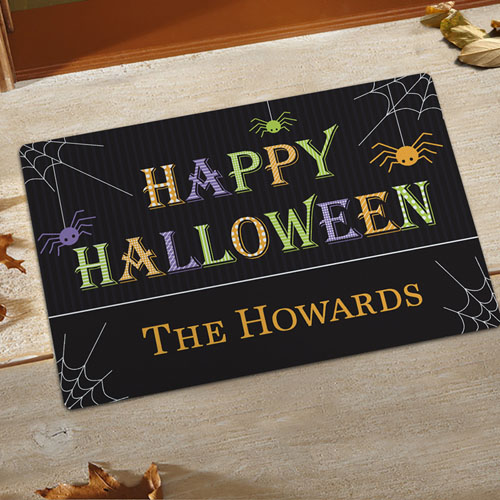 Create Your Own Happy Halloween Door Mat