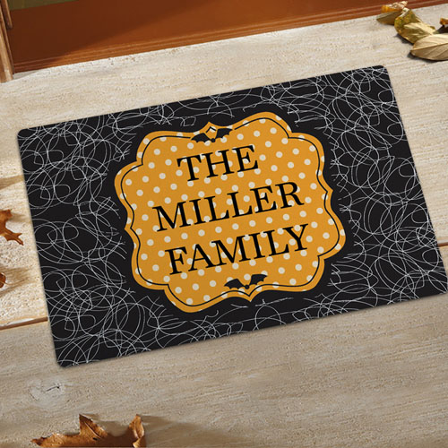 Create Your Own The Miller Family Door Mat