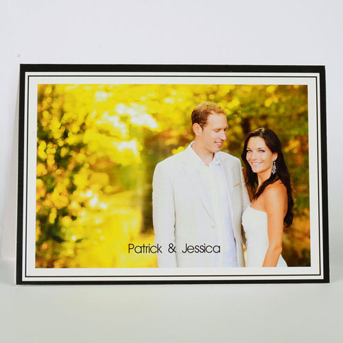 Custom Printed Lovely Thank You Greeting Card