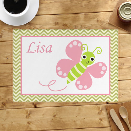 Personalized Butterfly Placemats