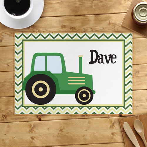 Personalized Car Placemats