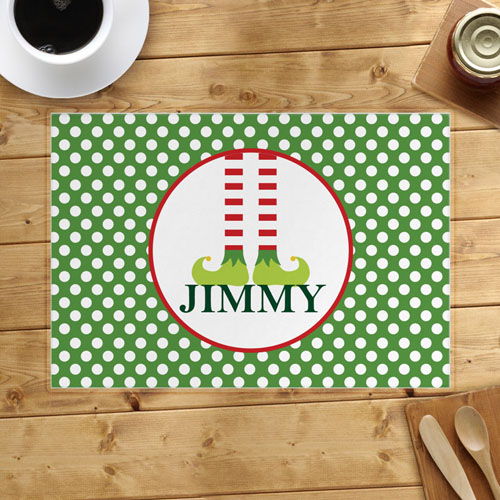 Personalized Christmas, Boy Placemats