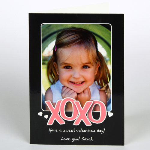 Custom Printed Sweet Valentine's Day Greeting Card